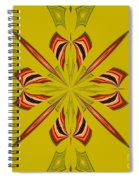 Abstract 234 Spiral Notebook