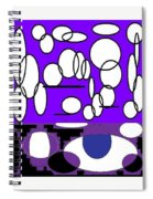 Abstract #24 Spiral Notebook