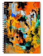 Abstract 315002 Spiral Notebook
