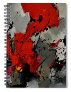 Abstract 3341202 Spiral Notebook