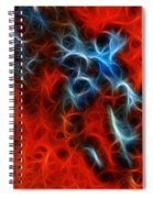 Abstract 4 Spiral Notebook