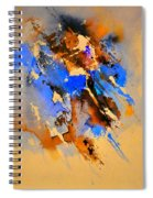 Abstract 4110212 Spiral Notebook