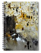 Abstract 411111 Spiral Notebook