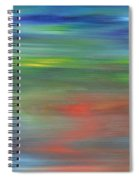 Abstract 421 Spiral Notebook
