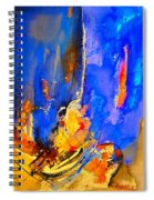 Abstract 434180 Spiral Notebook