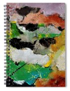 Abstract 44501 Spiral Notebook