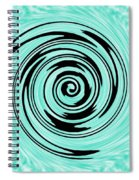 Abstract #5 Spiral Notebook
