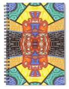 Abstract 55 Spiral Notebook