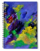 Abstract 5531102 Spiral Notebook