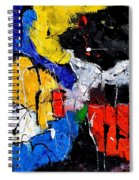 Abstract 55315080 Spiral Notebook
