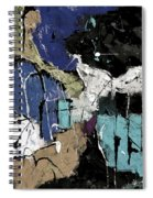 Abstract 553150802 Spiral Notebook
