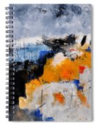 Abstract 66211142 Spiral Notebook