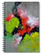 Abstract 6631201 Spiral Notebook
