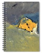 Abstract 6631702 Spiral Notebook