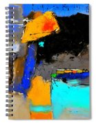 Abstract 664150 Spiral Notebook