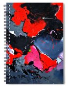 Abstract 673121 Spiral Notebook
