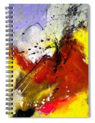 Abstract 693154 Spiral Notebook