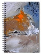 Abstract 694160 Spiral Notebook