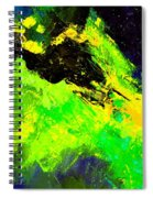 Abstract 6954278 Spiral Notebook