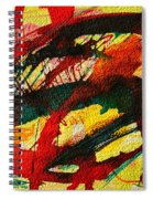 Abstract 73 Spiral Notebook