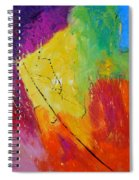 Abstract 77411112 Spiral Notebook