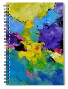 Abstract 7741301 Spiral Notebook