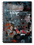 Abstract 77413022 Spiral Notebook