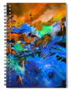 Abstract 783180 Spiral Notebook