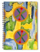 Abstract 82 Spiral Notebook