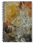 Abstract 8821151 Spiral Notebook
