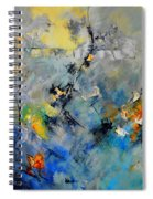 Abstract 88212082 Spiral Notebook