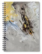 Abstract 8831801 Spiral Notebook