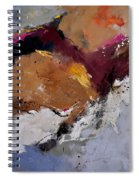 Abstract 8831901 Spiral Notebook