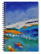 Abstract 88319091 Spiral Notebook