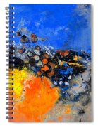 Abstract 88411133 Spiral Notebook