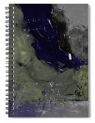 Abstract 88457412 Spiral Notebook