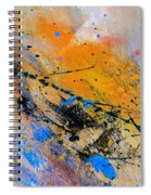 Abstract 965943 Spiral Notebook