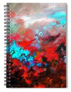 Abstract 975231 Spiral Notebook