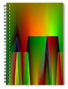 Abstract A018 Spiral Notebook