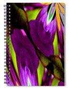 Abstract A03 Spiral Notebook