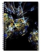 Abstract A07 Spiral Notebook