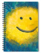 Abstract - Acrylic - Happy Abstraction Spiral Notebook