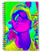 Abstract Andy Spiral Notebook