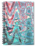 Abstract Approach Iv Spiral Notebook
