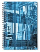 Abstract Architecture Spiral Notebook
