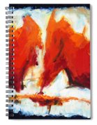Abstract Art Forty-three Spiral Notebook