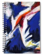 Abstract Art Forty-two Spiral Notebook