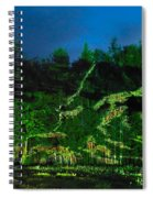 Abstract Art Nature Scenery Spiral Notebook
