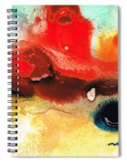 Abstract Art - No Limits - By Sharon Cummings Spiral Notebook