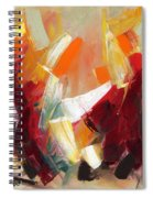 Abstract Art Sixty Spiral Notebook